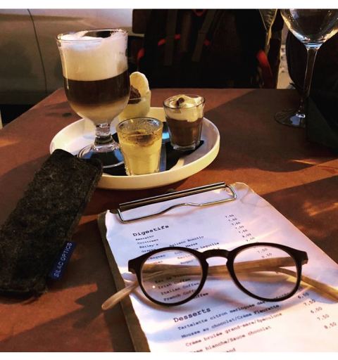 OVALE WOOD - Women's Reading Glasses