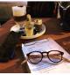 OVALE WOOD - Reading glasses - mixed model - 7090